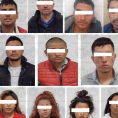 Foto: Supuestos integrantes del Cartel Jalisco Nueva Generación (CJNG). Twitter/@FGEGUANAJUATO