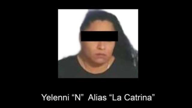 Foto: Yelenni 'N', alias 'La Catrina'.