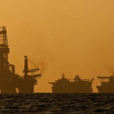 Foto: Pozo petrolero en el Golfo de México. Getty Images/Archivo