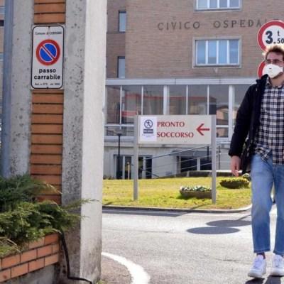 Foto: Autoridades sanitarias italianas confirmaron 17 contagios por coronavirus. Twitter/