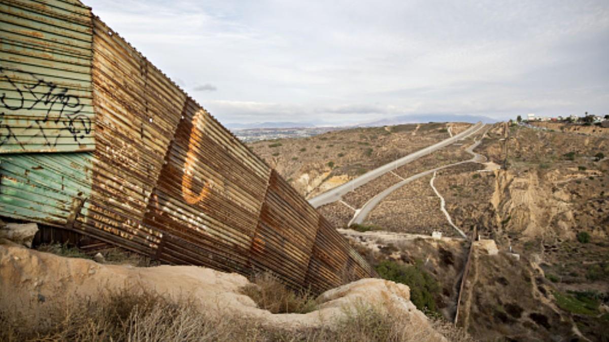 Foto: Frontera entre Estados Unidos y México. Getty Images