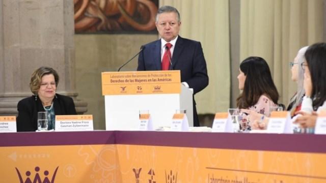 Foto: Arturo Zaldívar, ministro presidente de la Suprema Corte de Justicia de la Nación (SCJN).