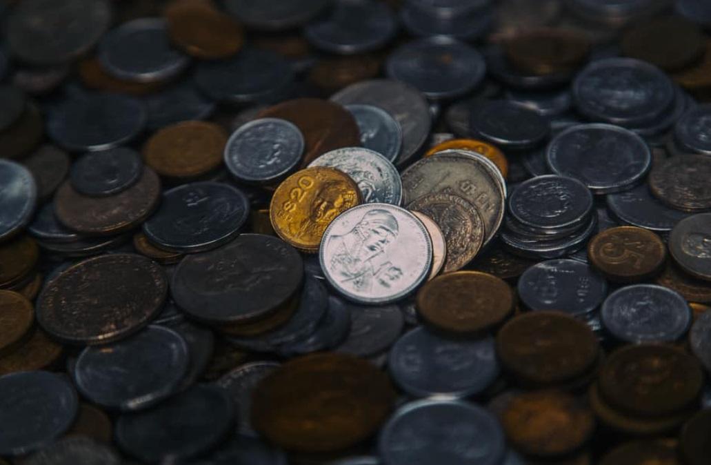 Foto: Monedas mexicanas