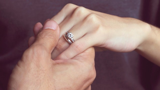 Foto: Propuesta de matrimonio. Getty Images/Archivo