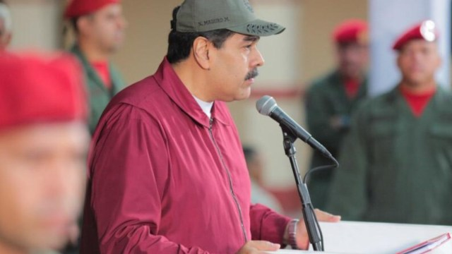 Foto: Nicolás Maduro, presidente de Estados Unidos.