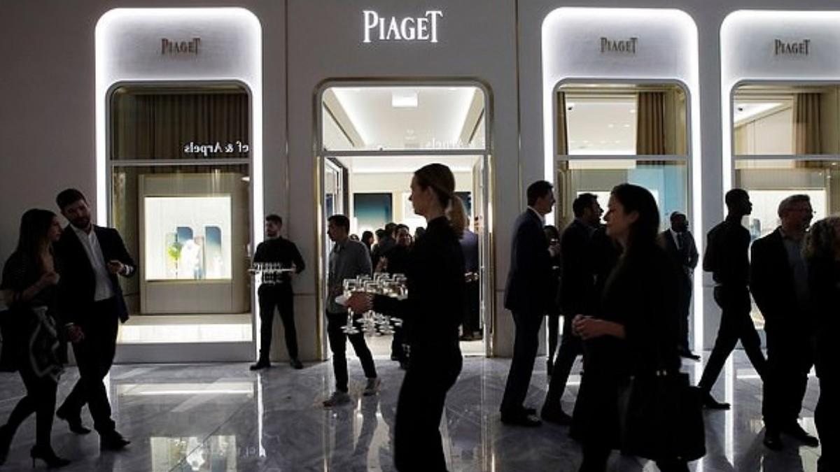 Foto: Tienda de la marca Piaget en Nueva York, Estados Unidos. AP