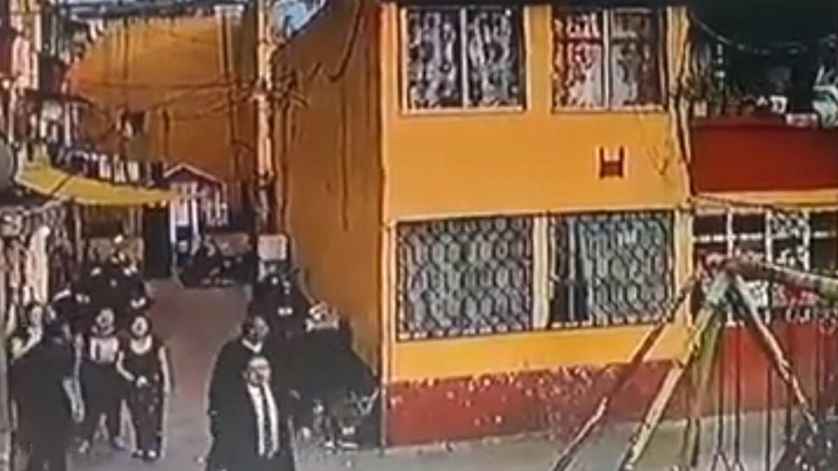 Foto: Operativo en la calle de Jesús Carranza 69, alcaldía Cuauhtémoc, Ciudad de México.