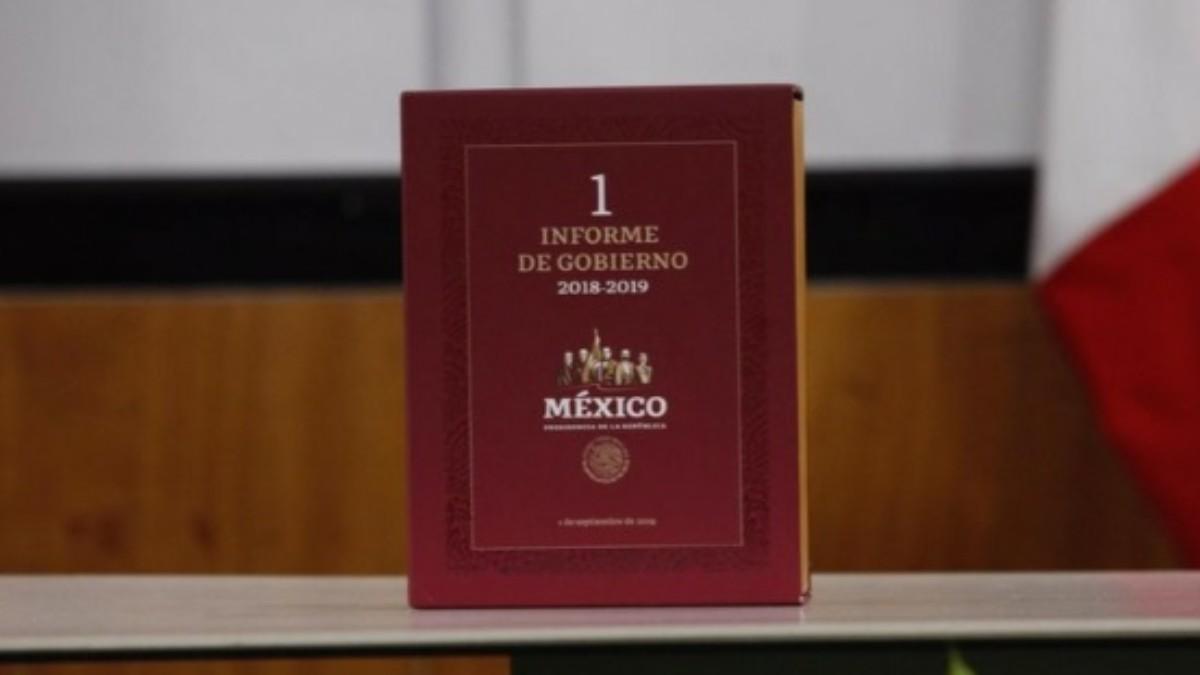 Foto: Primer Informe de Gobierno del presidente Andrés Manuel López Obrador.