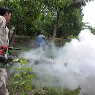 Foto: Campaña para erradicar el mosco transmisor del dengue. Cuartoscuro