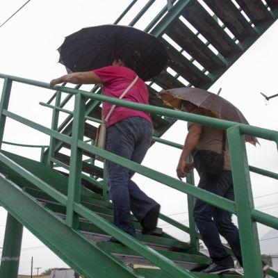 Frente frío 41 recorrerá el noreste de México; provocará vientos fuertes