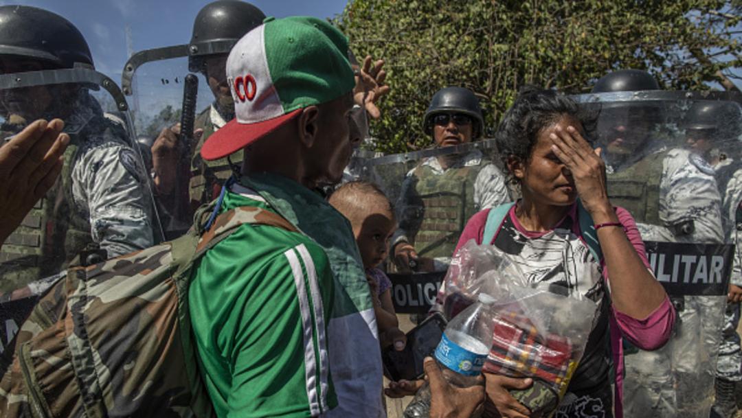Foto: CNDH detecta malas condiciones en refugio de migrantes en Nuevo León, 15 de febrero de 2020, (Getty Images, archivo)