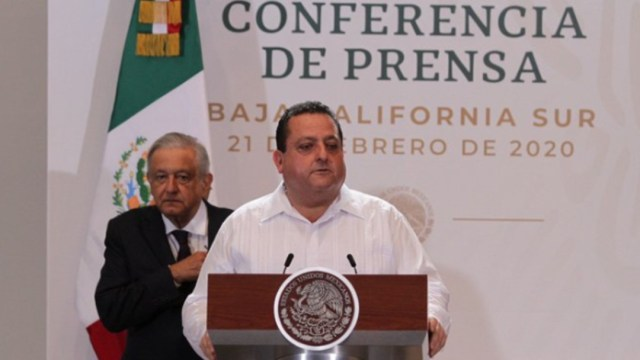 Foto: Gobernador de BCS afirma que delitos van a la baja en esa entidad