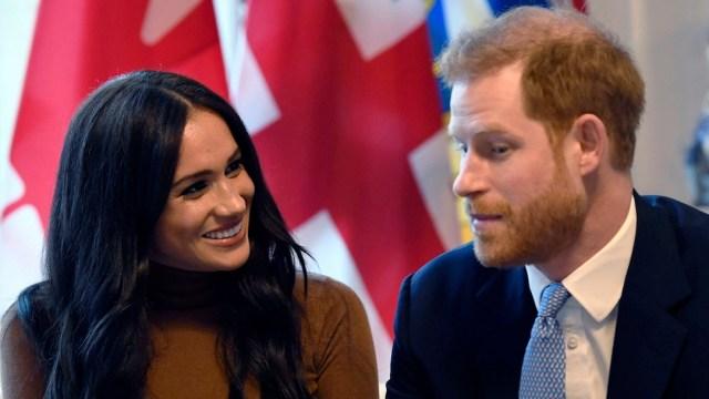 Foto: Mayoría de canadienses no quiere pagar la seguridad del príncipe Harry y Meghan Markle, 2 de febrero de 2020, (DANIEL LEAL-OLIVAS / various sources / AFP)