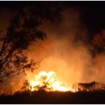 Foto: Se registra fuerte incendio en Santa Fe, 23 de febrero de 2020 (Foro TV)