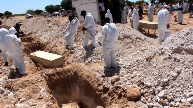 Llevan 47 cuerpos no reclamados a la fosa común