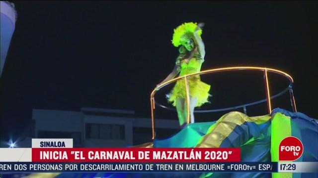 FOTO: inicia el carnaval de mazatlan