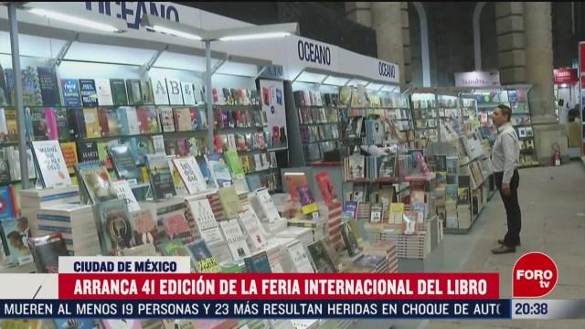 Foto: Feria Internacional Del Libro Palacio De Minería 2020 20 Febrero 2020