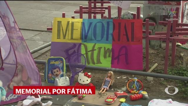Foto: Memorial Fátima Antimonumenta Feminicidios Cdmx 19 Febrero 2020