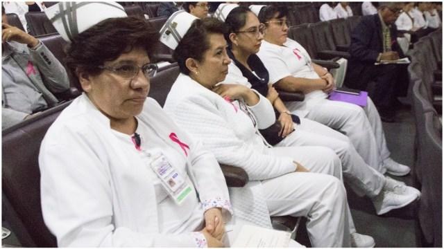Imagen: ISSSTE pide a la población conservar la calma ante el coronavirus, 2 de febrero de 2020 (Cuartoscuro)