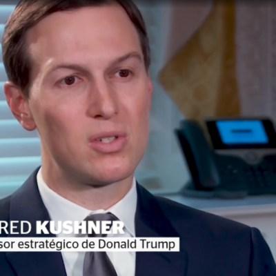 Jared Kushner habla sobre Trump, el muro y AMLO, en entrevista para Noticieros Televisa