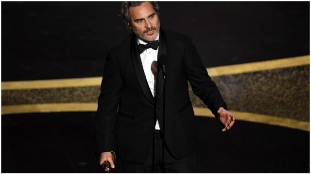 Foto: Joaquin Phoenix ganó el Oscar 2020 como Mejor Actor gracias a su papel en la película 'Joker', 9 de febrero de 2020 (Getty Images)