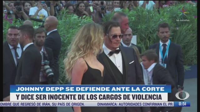 johnny depp comparece ante tribunal de londres