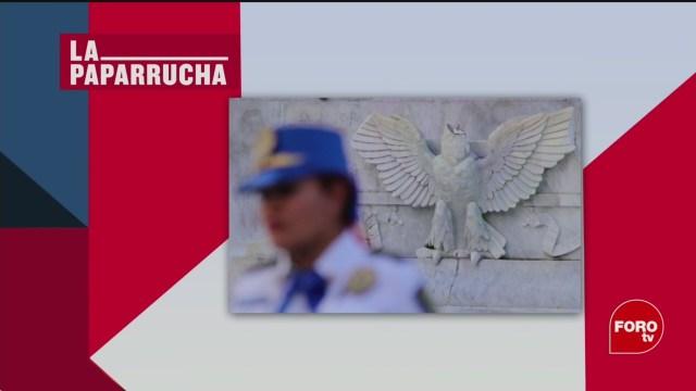 Foto: Joven Decapita Águila Hemiciclo Juárez CDMX 24 Febrero 2020