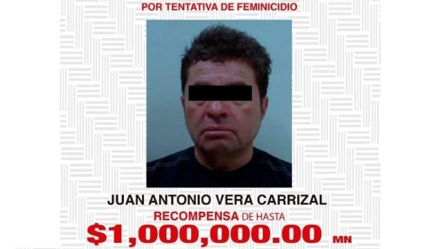 Juan Antonio Vera Carrizal, señalado como autor intelectual del ataque con ácido a la saxofonista
