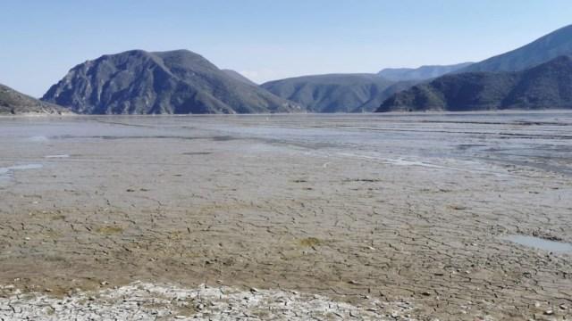 Laguna de Metztitlán, en Hidalgo, se seca por completo