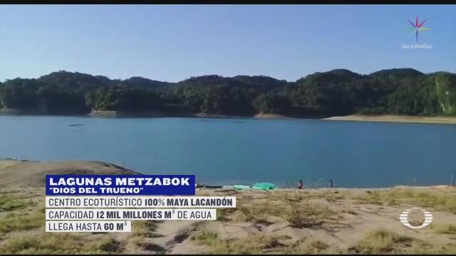 Foto: Laguna Metzabok Chiapas Retoma Cauce Tras Sequía 21 Febrero 2020