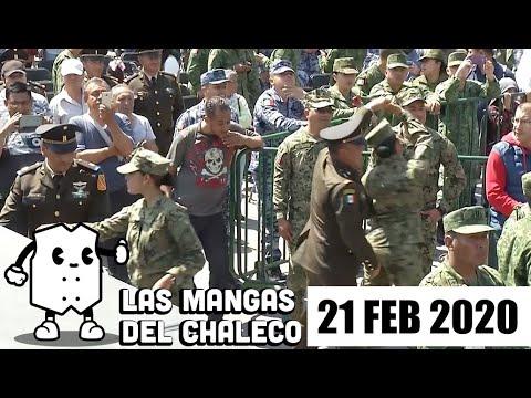 Las Mangas del Chaleco con los priistas que desconocen a Lozoya, las detenciones y liberaciones de El Lunares y los festejos por el Día del Ejército.