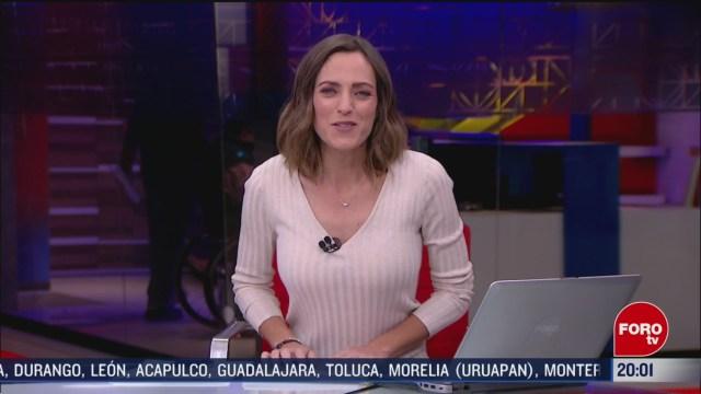 Foto: Las Noticias Ana Francisca Vega Programa Completo Forotv 28 Febrero 2020