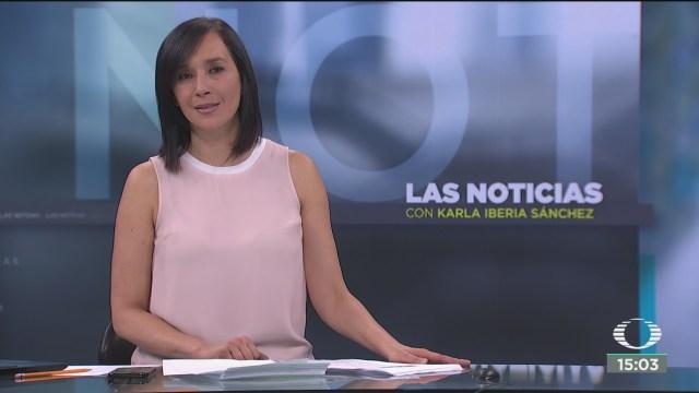 FOTO: las noticias con karla iberia programa del 20 de febrero del