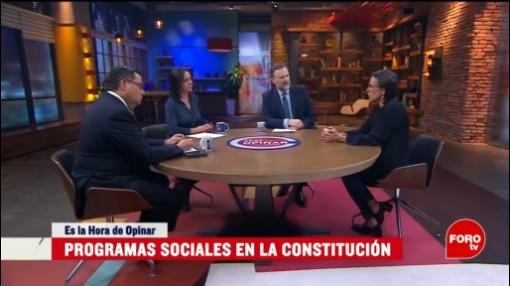 Foto: Políticas Sociales Deben Estar Constitución 27 febrero 2020