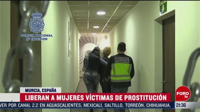Foto: Prostitución España Mujeres Víctimas Liberadas 21 Febrero 2020