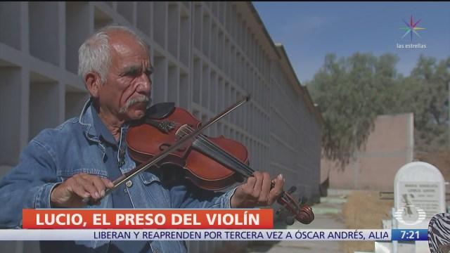 liberan de chiconautla al hombre del violin que se defendio de un robo