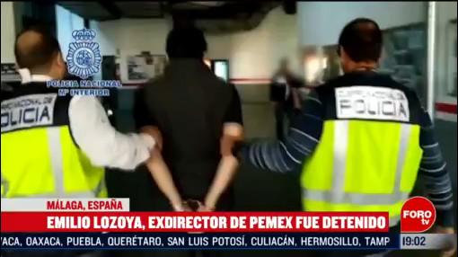 Foto: Lozoya Exdirector Pemex No Resistió Detención 12 Febrero 2020