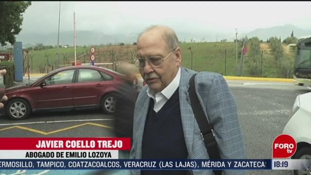 FOTO: lozoya recibe visita de sus abogados por primera vez desde su detencion