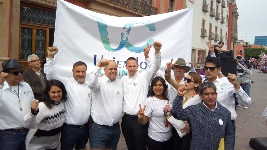 Marchan por la paz y la seguridad en Guanajuato