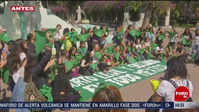 FOTO: marea verde se manifiestan por el aborto legal y seguro