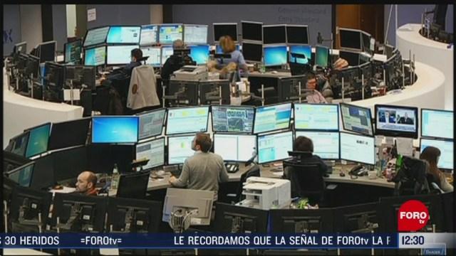 mercados financieros reportan caidas por temor al coronavirus