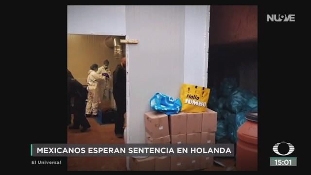 FOTO: mexicanos podran recibir sentencia de hasta 5 anos en holanda