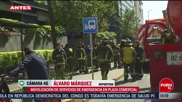 FOTO: movilizacion de servicios de emergencia por conato de incendio en patriotismo