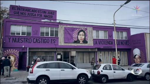 Foto: Mural Feminicidios Saltillo Genera Reacciones 17 Febrero 2020