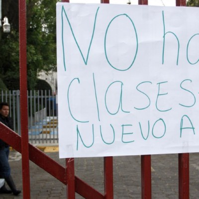 Foto: Escuelas suspendieron clases debido a las bajas temperaturas que se registran, 27 febrero 2020