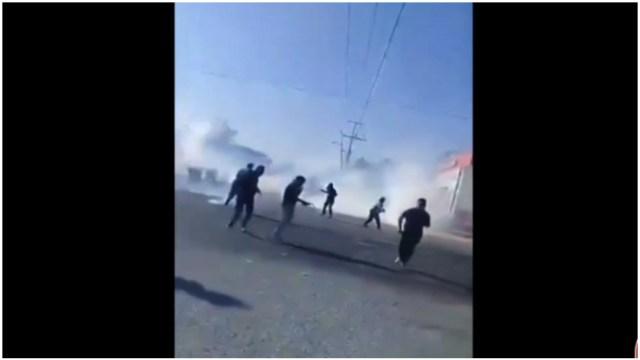 Foto: Papás de normalistas de Ayotzianapa denuncian ser víctimas de represión, 16 de febrero de 2020 (Foro TV)