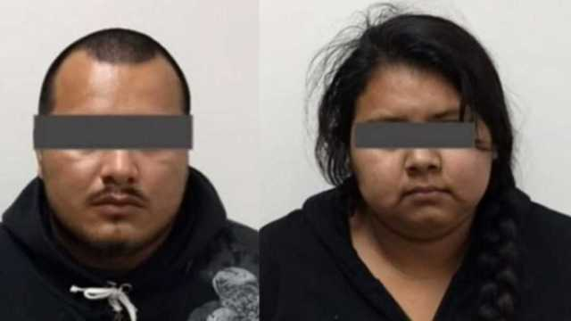 Foto: Capturan a madre y padrastro de niño que mataron a golpes en Nuevo León, 1 de febrero de 2020, (Gobierno de Nuevo León)
