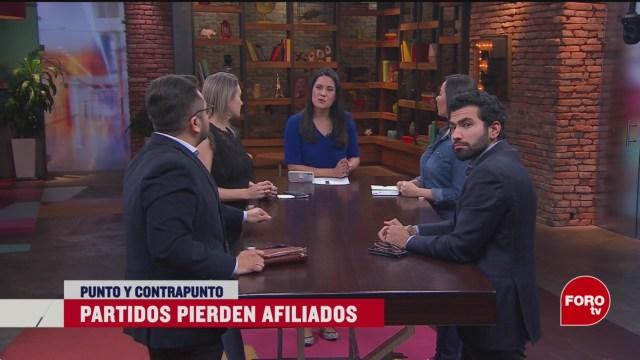 Foto: Partidos Políticos Pierden Afiliados 19 Febrero 2020