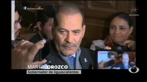 Foto: Gobernador Aguascalientes Martín Orozco Sandoval Insabi 6 Febrero 2020