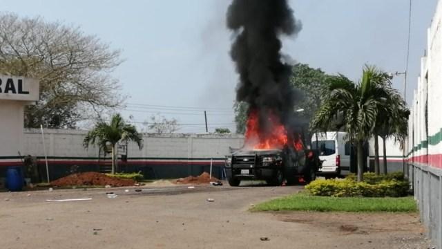 Pobladores de Ciudad Isla, Veracruz, exigen retirar GN
